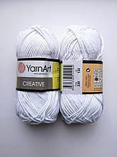 Креатив, цвет белый