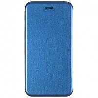 Чехол Fiji G.C. для Xiaomi Redmi Note 10 / Note 10S книжка магнитная Blue