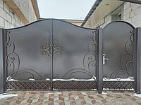 Кованые ворота В-78