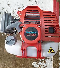 Мотокоса китай Двигатель в сборе 40 мм на обычные китайские косы, сцепления 76мм