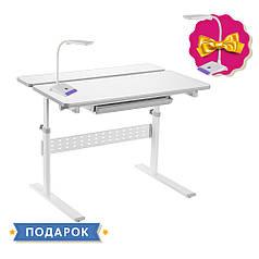 Парта-трансформер для школяра Fundesk Colore Grey
