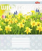 """Тетрадь 12 листов """"Полевые цветы"""" M480173-2887"""
