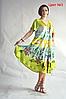 Платье летнее женское натуральное размеры 48-58, фото 2