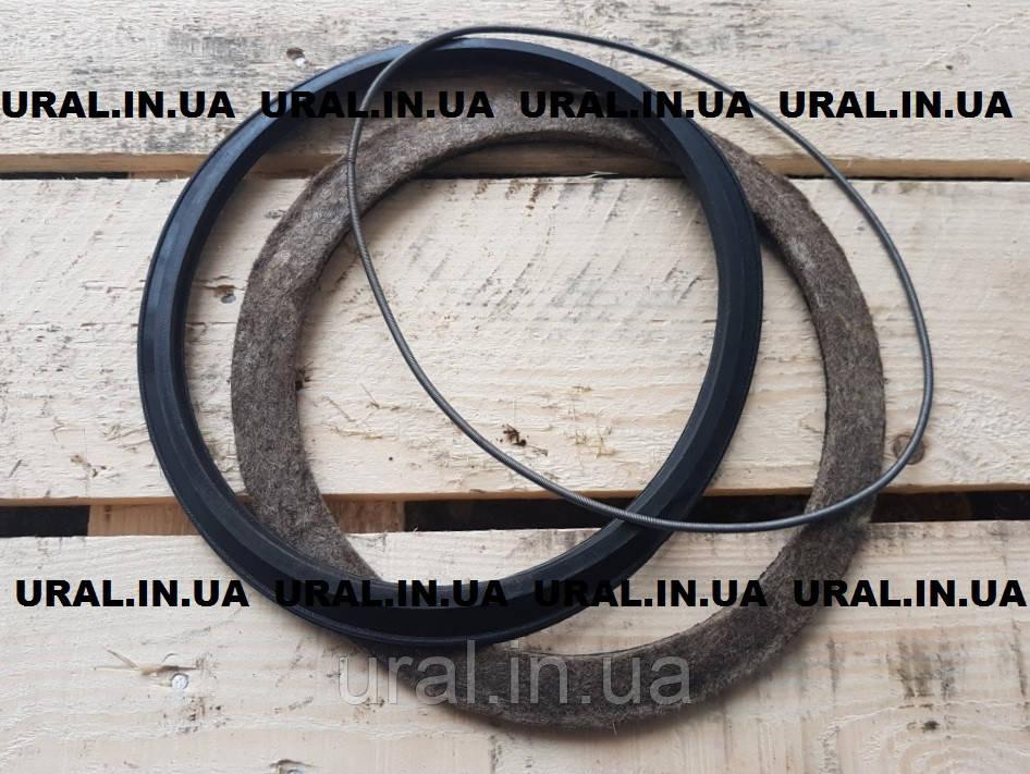 Ремкомплект кулака поворотного (Войлок + манжета) 375-2304096
