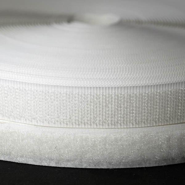 Лоскуток. Липучка белая ,шириной 30 мм.  0.2 м