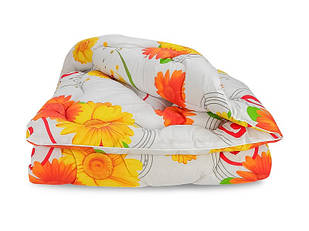 Одеяло Шерстяное Полуторное Тёплое зима Leleka-Textile 140х205 см Зима Полуторное