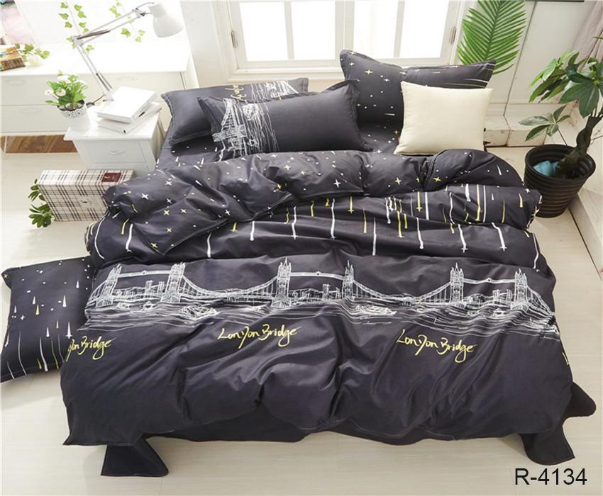 Комплект постельного белья евро ТМ TAG  R4134