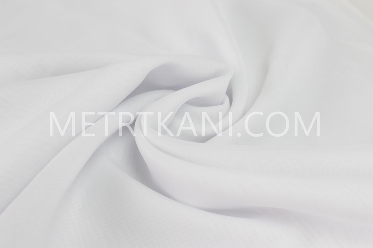 Клаптик. Тюль біла вуаль 55*150 см