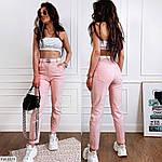 Женские джинсы с завешенной талией и со шлёвками на поясе, фото 4