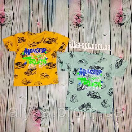 Детская футболка Монстер Трак кулир