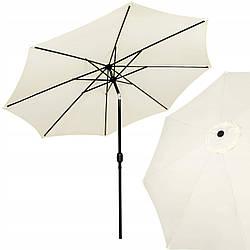 Зонт садовый стоячий (для террасы, пляжа) с наклоном Springos 290 см GU0017