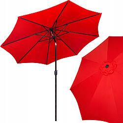 Зонт садовый стоячий (для террасы, пляжа) с наклоном Springos 290 см GU0018