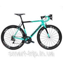 Велосипед BIANCHI Specialissima CV Ultegra Di2 11s Stages LR 172.5 53/39 ZAAK 55 B Celeste 57