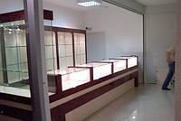 Торговые витрины для ювелирных отделов