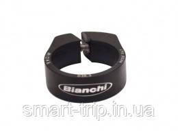 Хомут подседельный BIANCHI Methanol SX SCL X-Carbon System Alu Black 38.35mm