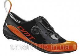 Велотуфлі DMT T1 Triathlon Orange/Black