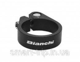 Хомут подседельный BIANCHI Tranz X SC08 Alu Black 35mm