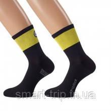 Шкарпетки ASSOS CENTOSOCKS EVO8 voltYellow літо розмір 35-38