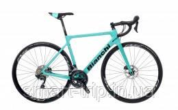 Велосипед BIANCHI Sprint Ultegra 11s Disc CP Road 55cm Celeste