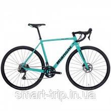 Велосипед BIANCHI Zolder Pro GRX 810 11S Disc H CX 52cm Celeste