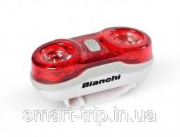Фара задняя BIANCHI Rear Light 2x0,5W LED Red