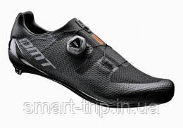 Велотуфлі DMT модель KR3 шосейні чорні