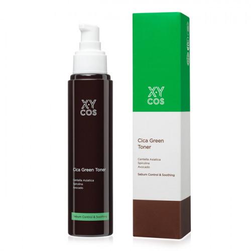 Тонер для жирной кожи с экстрактом центеллы XYCos Cica Green Toner, 120 мл
