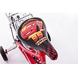 Велосипед Mustang Тачки 18 дюйма с корзинкой, фото 6