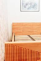 Ліжко односпальне деревяне з масиву бука 120*200