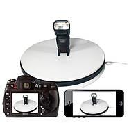 Ø 25см/max-25кг Автоматический поворотный стол для предметной съемки 3d фото видеосъемки на 360 FTR-NA250-1124, фото 5