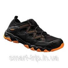 Кросівки DMT модель DA1 чорний/помаранчевий