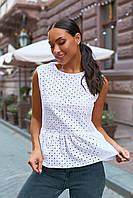 """Блузка жіноча молодіжна ПРОШВА, розміри 42-52 """"VLADA"""" купити недорого від прямого постачальника"""