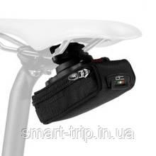 Сумочка велосипедная Scicon ELAN 210 SMALL QUICK RELEASE CYCLING SADDLE BAG Black SB026140515
