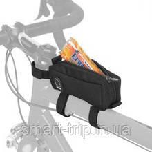 Сумочка велосипедная Scicon FUEL STRAP ON TOP TUBE FRAME BAG Black BG027010506