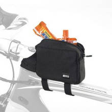Сумочка велосипедная Scicon PIGGY STRAP ON TOP TUBE FRAME BAG Black SB061010506