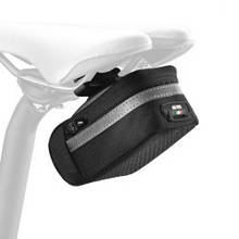 Сумочка велосипедная Scicon SOFT 350 SMALL QUICK RELEASE CYCLING SADDLE BAG Black SB057140506