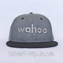 Бейсболка Wahoo серый WXHAT2