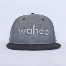 Бейсболка Wahoo сірий WXHAT2