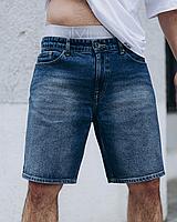 Синие джинсовые шорты мужские   Украина   хлопок + эластан