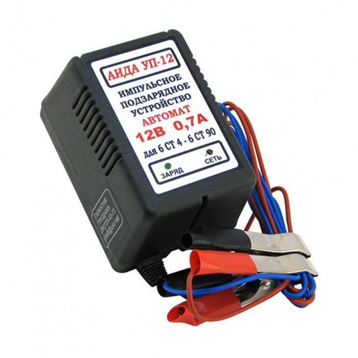 Зарядний пристрій Аїда УП-12 для авто акумуляторів 4-20 Ач