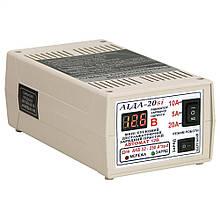 Пуско-зарядний пристрій Аїда 20si для авто акумуляторів 32-250 Ач c цифровим індикатором