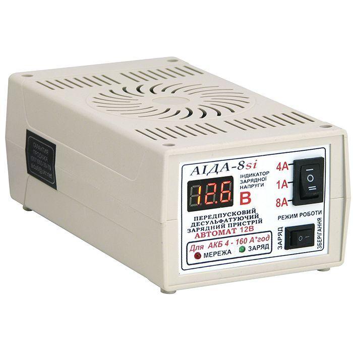 Зарядное устройство Аида 8si для кислотных и гелевых АКБ 4-160 Ач