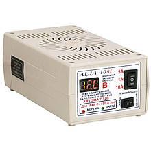 Зарядний пристрій Аїда 10si для АКБ 10А 4-180 Ач з індикатором напруги