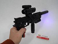 Пістолет з ліхтариком і прицілом, фото 1