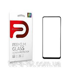 Захисне скло Armorstandart Full Glue для TECNO Spark 6 (KE7) Black (premium glass)