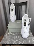 Nike Air Force 1 07 Low LV8 Ultra White белые Найк Эйр Форс 1 07 Лов ЛВ8 кроссовки для мужчин. Обувь весенняя, фото 7