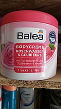 Крем для тела с экстрактом ягод годжи  Balea Bodycreme Gojibeere 500  мл