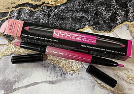 Мега крутая NYX Ombre lip duo Pink Bubbles & Caviar