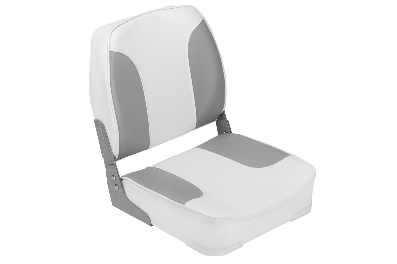 Складное сиденье Aqual 1001202 бело-серое
