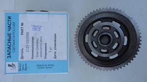 Шкив демпфер вала коленчатого ВАЗ 2123 (цельный чугунный) ВолгаАвтоПром
